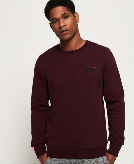 Superdry Superdry Orange Label sweatshirt med rund hals