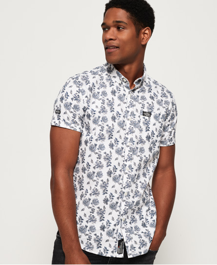 Shoreditch Button Down Short Sleeve Shirt