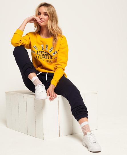 Superdry Superdry Urban Street sweatshirt med rund hals og applikation