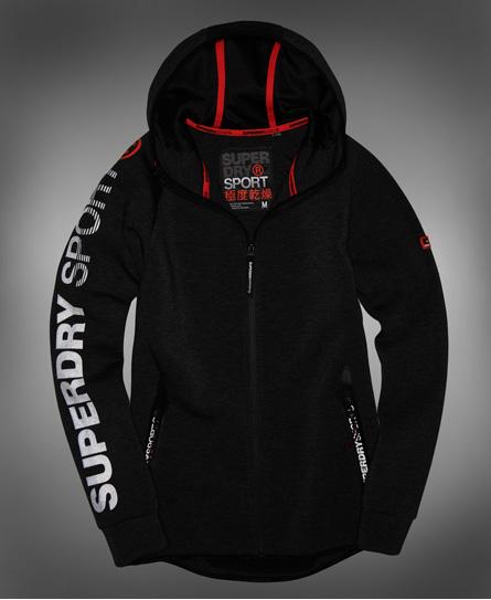 Superdry Gym Tech Spliced Zip Hoodie