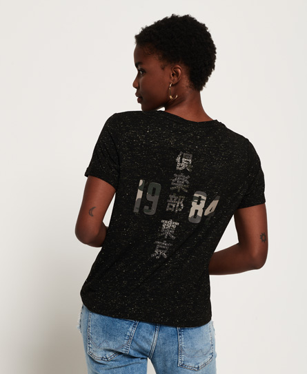 Superdry Keep It Rhinestone Boxy T-shirt