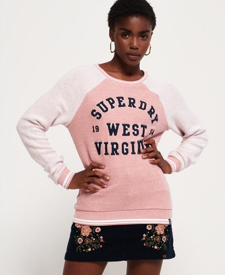 Superdry Superdry Aria Reversed trøje med rund hals