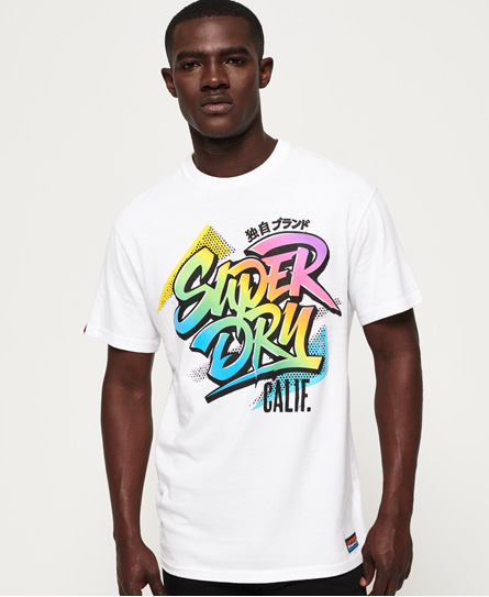 Superdry T-Shirt Acid Pacifica Boxy