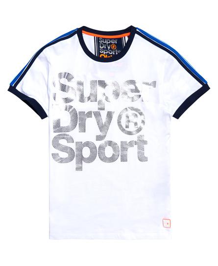 Superdry - Camiseta clásica con logo metalizado Tokyo Ringer - 2