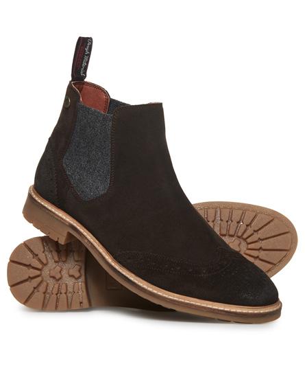 Brad Brogue Chelsea Boot