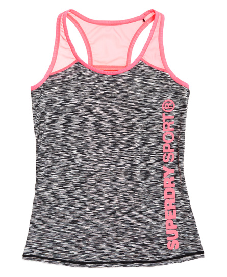 Superdry Core Fitted Mesh Panel -toppi