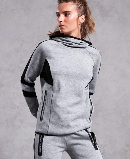 Superdry Superdry Core Gym Tech hættetrøje med skorstenskrave