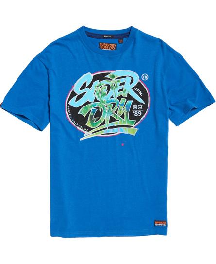 Superdry - Camiseta de corte cuadrado Acid Pacifica - 2