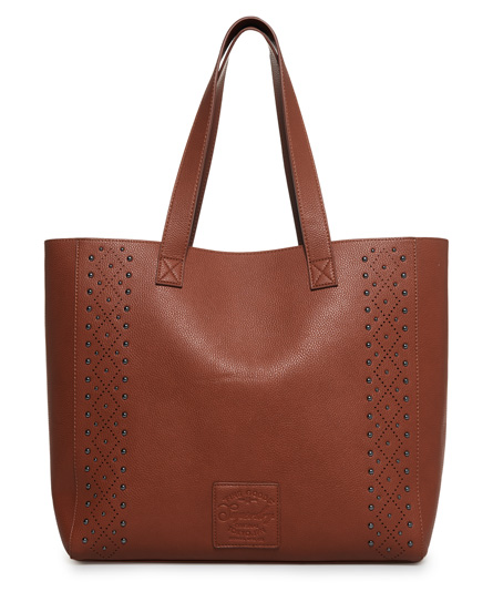 Elaina Studded Tote Bag
