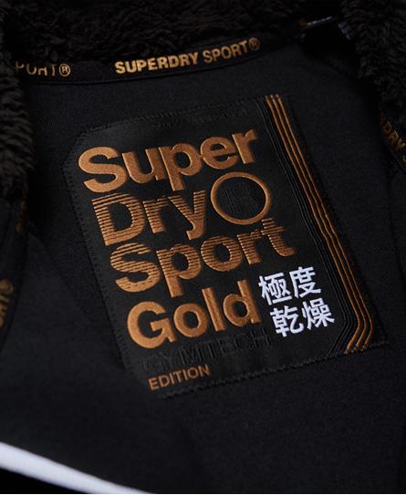 Superdry Gym Tech Gold Kapuzenjacke
