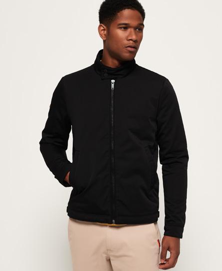 Superdry Superdry Premium hanefjedsmønstret harrington-jakke
