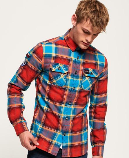 Superdry Superdry Skovmandsskjorte i en let kvalitet