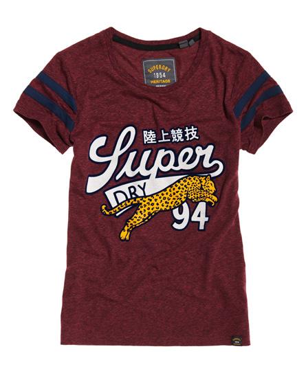 T-shirt Viola donna T-Shirt Big Cat moda abbigliamento - immagine 0