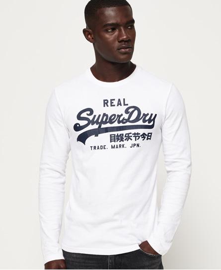 Superdry Langärmeliges Vintage Logo T-Shirt