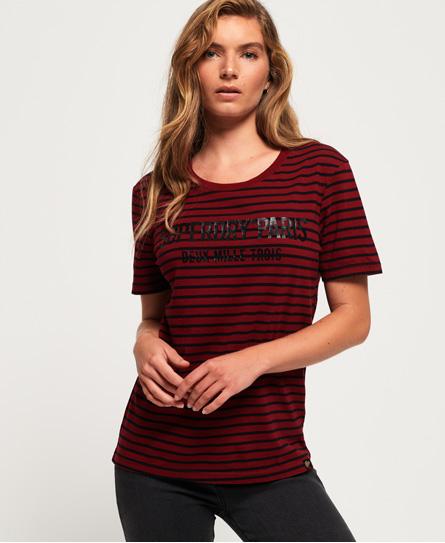 Superdry Ava T-Shirt mit Streifen