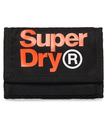 Superdry Freshman Brieftasche | Accessoires > Portemonnaies > Brieftaschen | Schwarz | Innenfutter: polyester 100%| rumpf: polyester 100%| rumpf: nylon 100%| | Superdry