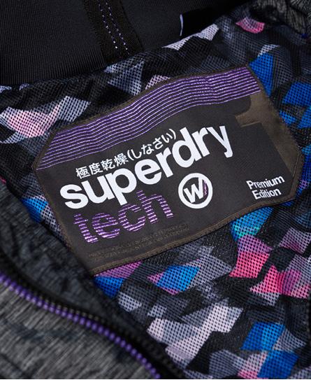 Superdry Tech Pop Zip SD-Windcheater vindjacka med huva