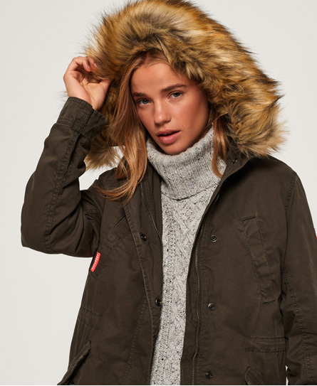 Superdry Superdry Classic Rookie parka med fishtail