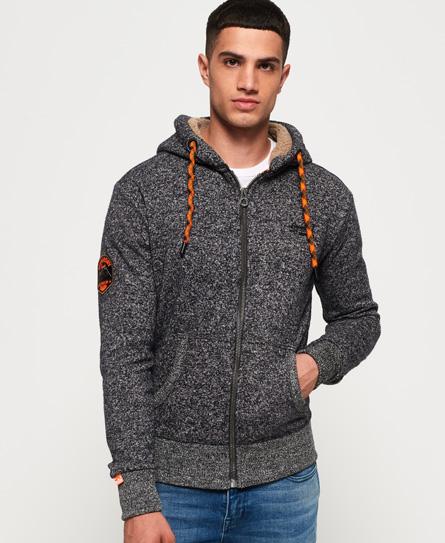 Superdry Superdry Orange Label Mountain hættetrøje med lynlås