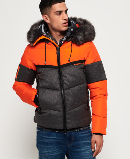 Superdry jacke orange