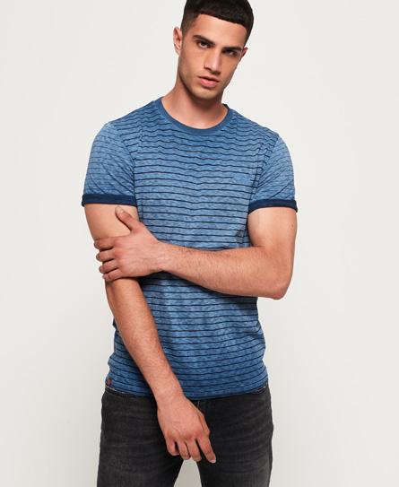 Superdry Superdry Low Roller T-shirt med kontrastfarvet stribedesign