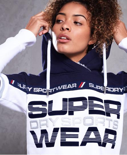 Superdry Superdry Block Repeater hættetrøje