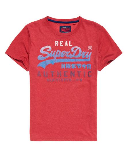 Superdry Superdry Vintage Authentic T-shirt med fading logo