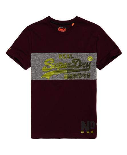 Superdry Superdry Paneldesignet Vintage Logo 1st T-shirt