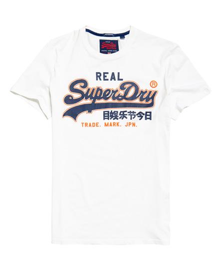 Superdry Superdry Vintage Logo T-shirt i en let kvalitet