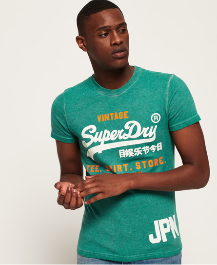 Superdry Superdry Shirt Short Duo Overdyed T-shirt