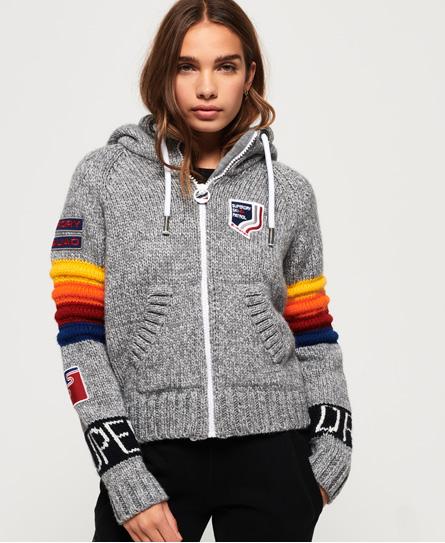 Superdry Superdry Kort California Sport hættetrøje med lynlås