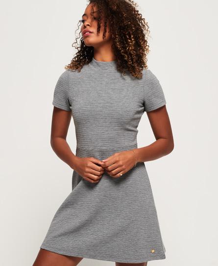 Superdry Nanette Textured-kjole