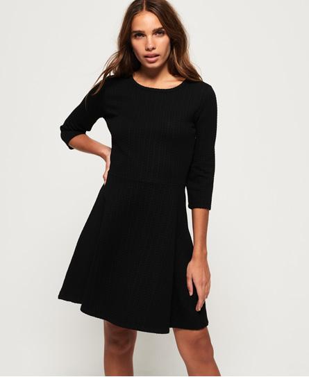 Superdry Riley Textured Skater-kjole