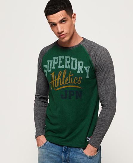 Superdry Superdry Track & Field T-shirt med lange raglanærmer