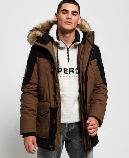 Superdry Superdry Wax Edition Everest parka