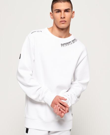 Superdry Superdry Black Label Edition sweatshirt med rund hals