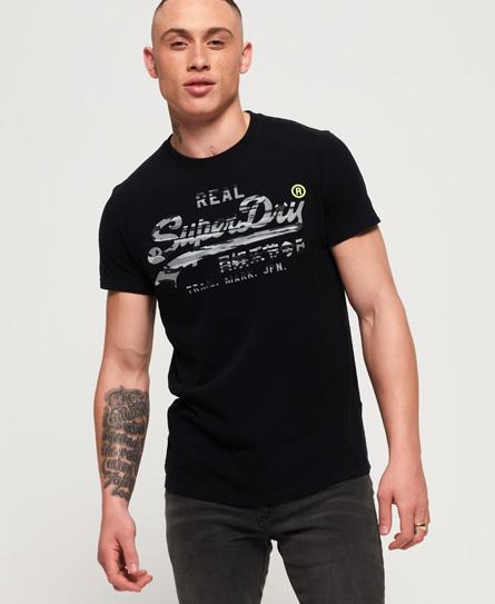 Superdry Superdry Vintage Logo T-shirt med camo-designet logo