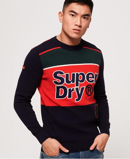 Superdry Superdry Trøje med rund hals og mega logo