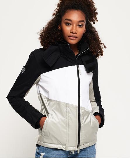 Superdry Superdry Arctic Splice SD-Windcheater jakke med hætte