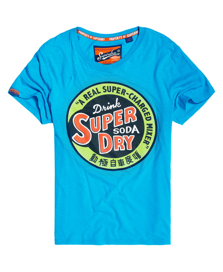 Superdry Leichtes Heritage Classic T-Shirt