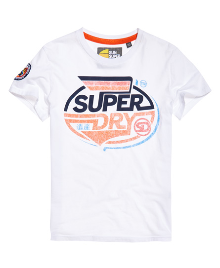 Superdry Superdry Malibu Racer Mid Weight T-shirt
