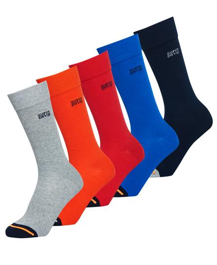 Superdry SD Jacquard-Socken im 5er-Pack