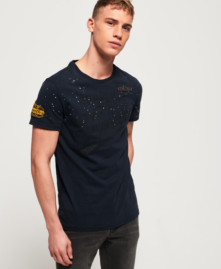 Superdry T-shirt Tour Mid Weight
