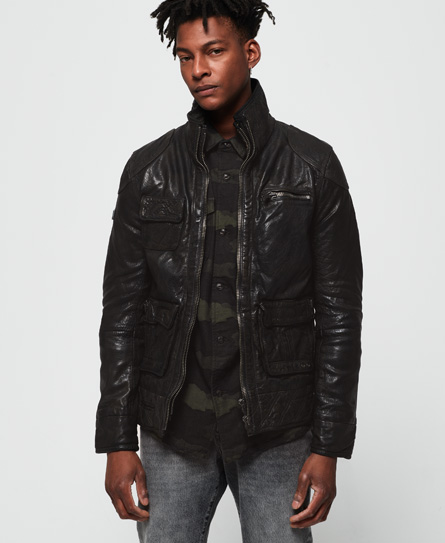 Superdry - Tarpit Leather Jacket - 1