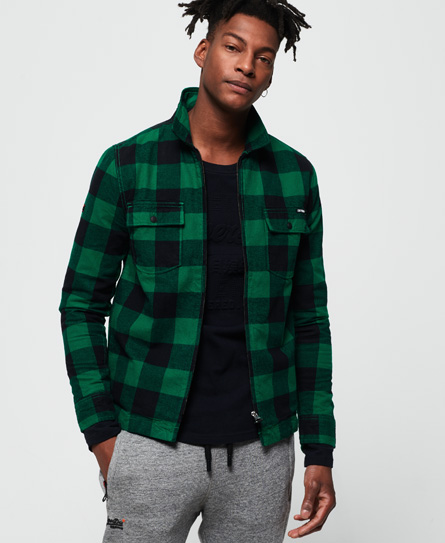 Superdry Superdry Rookie Harrington skjorte