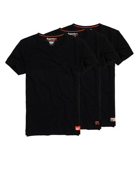 Superdry Schmal geschnittenes Superdry Laundry T-Shirt im 3er-Pack