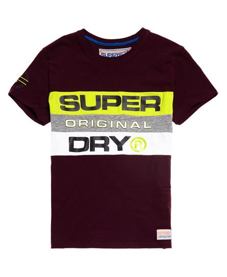 Superdry Trophy T-Shirt mit Einsätzen