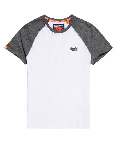 Superdry Superdry Kortærmet baseball T-shirt fra Orange Label
