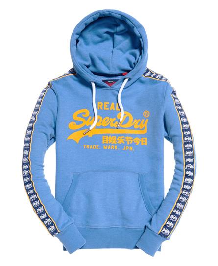 Superdry - Sudadera con capucha, banda decorativa y logo Vintage - 2
