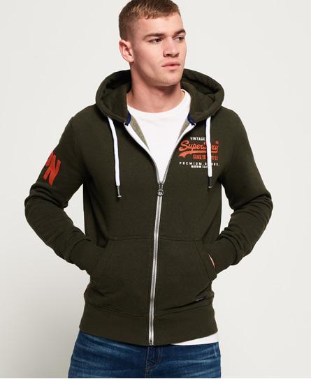Superdry Superdry Premium Goods Duo hættetrøje med lynlås